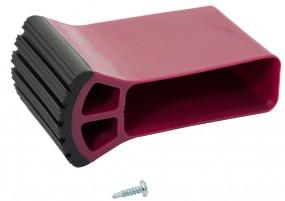 CORDA Traversenfußkappe 61,5 x 20 mm, violett