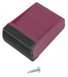 CORDA Traversenfußkappe 64x25 mm, violett