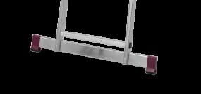 Traverse 50 mm für SprossenLeitern mit Ausstanzung im Holm / Länge 995 mm