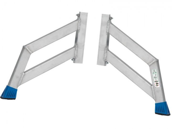 STABILO Trigon-Traversen-Set für STABILO Schiebe- und VielzweckLeitern bis zu 14 Sprossen