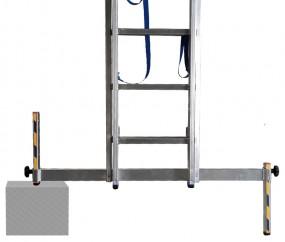 Niveau-Traverse 64 mm für alle STABILO-SprossenLeitern mit Ausstanzung im Holm / Länge 1.250 mm