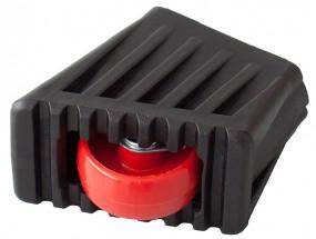 MONTO Fußkappe und Rollset für Rolly Stufenzahl 2x2, schwarz