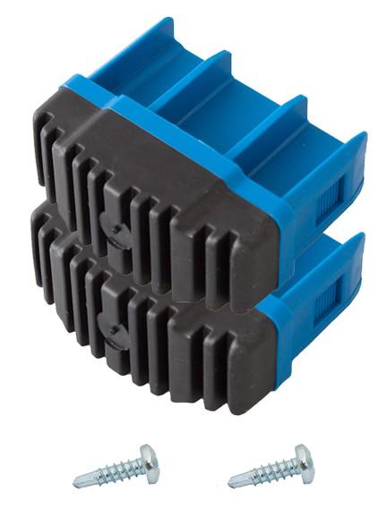 STABILO Fußstopfen (Paar) 64x25 mm, blau