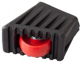 MONTO Fußkappe und Rollset für Rolly Stufenzahl 2x3, schwarz