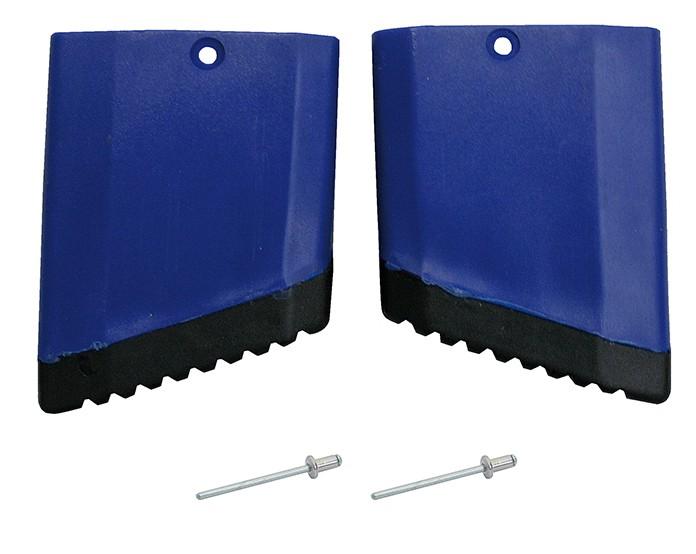STABILO Fußkappe Gelenk-TeleskopLeiter links, blau für Außenteil
