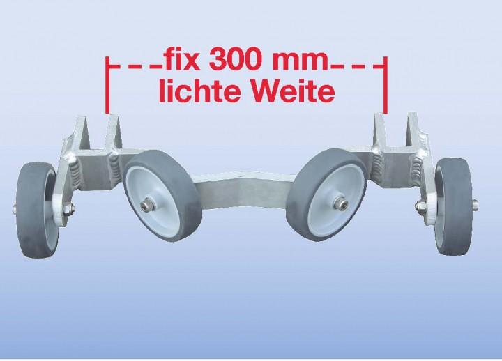 Universal-Mastanlegerrolle für Mastdurchmesser ab 60 mm
