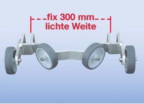 Universal-Mastanlegerrolle für Mastdurchmesser ab 200 mm