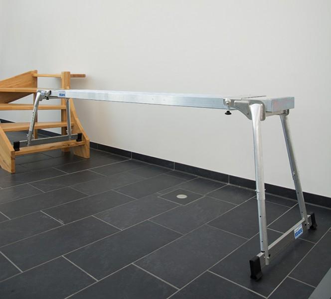 BoardStand (2 Stück) für TeleBoard Alu-Teleskop-Bohle