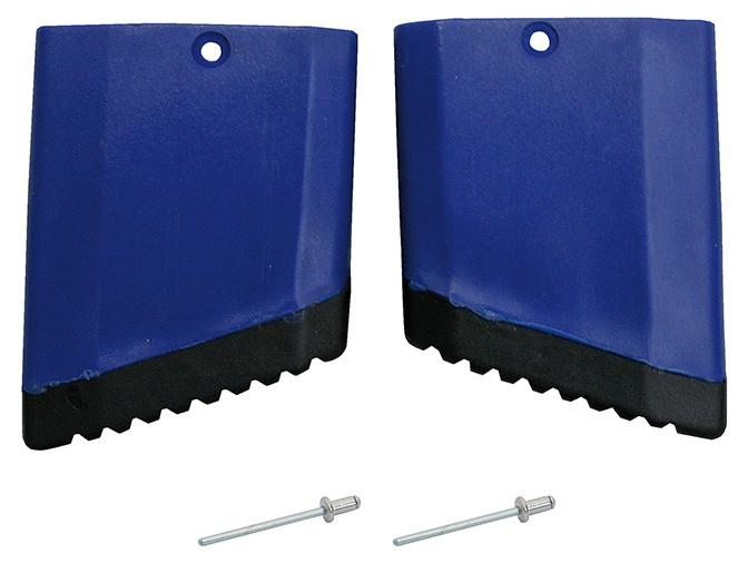 STABILO Fußkappe Gelenk-TeleskopLeiter rechts, blau für Außenteil