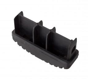 Ableitfähige Fußstopfen (Paar) 97x25 mm, schwarz
