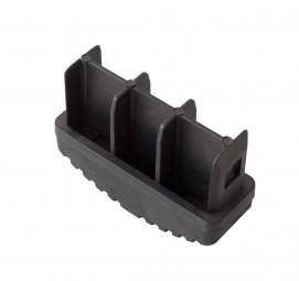 STABILO Ableitfähige Fußstopfen 77x25 (Paar) schwarz