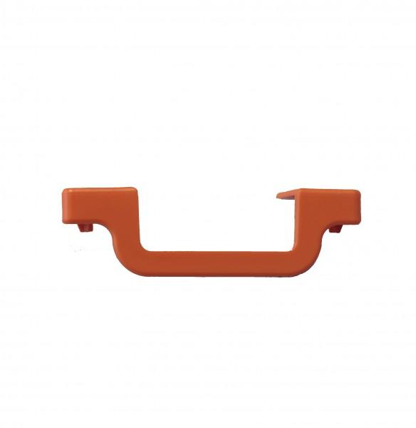 MONTO Stufenabschlusskappe Anbringung: Rechts, Stufentiefe 80 mm, orange