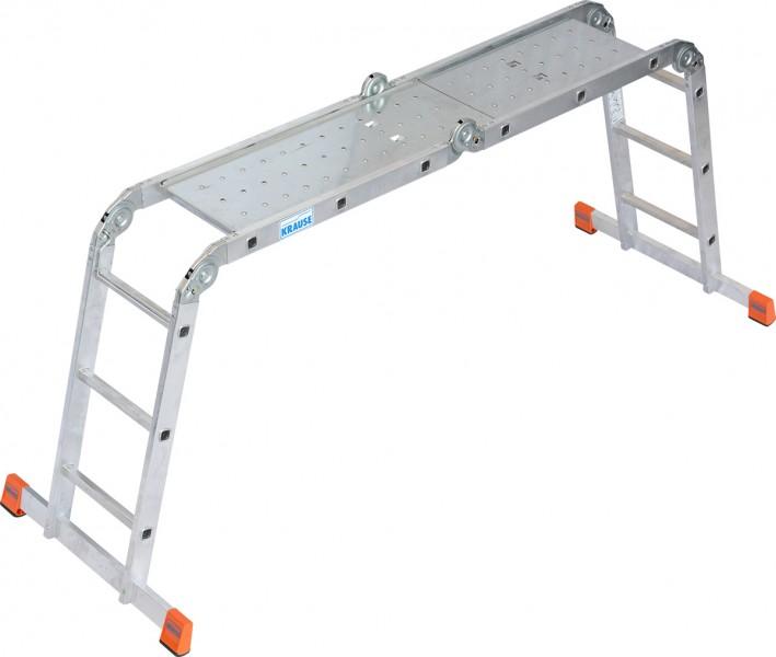 MultiMatic Gelenkleiter Plattform-Set aus Stahl