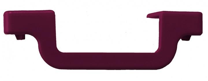 CORDA Stufenabschlusskappe Anbringung: links, Stufentiefe 80 mm, violett