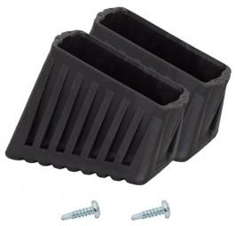 MONTO Fußkappe (Paar) 50x20 mm, schwarz