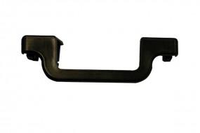 MONTO Stufenabschlusskappe Anbringung: Links, Stufentiefe 80 mm, schwarz