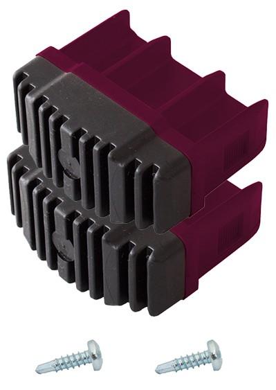 corda fu stopfen 64 x 25 mm violett ersatzteil sprossen mehr und vielzweckleitern krause. Black Bedroom Furniture Sets. Home Design Ideas