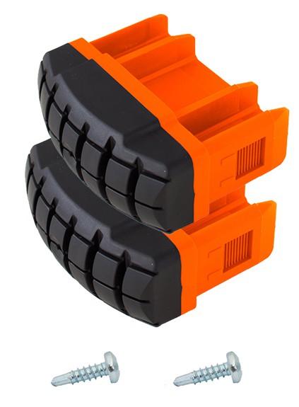 MONTO Fußstopfen TeleVario (Paar), orange